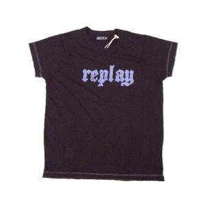 REPLAY M2486 SS TEE Black リプレイ SS Tシャツ ブラック cio