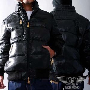 リッチヤング ダウン ジャケット RY-2007 ミステリー (ブラック) RICH YUNG Down Jacket RY-2007 Mystery|cio