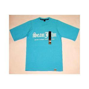 【SALE】SEAN JOHN S/S TEE Turquoise Bule ショーンジョン S/S Tシャツ ターコイズブルー|cio