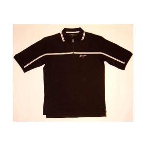 【SALE】SEAN JOHN S/S POLO Zip Black ショーンジョン S/S ポロシャツ ジップ付 ブラック cio
