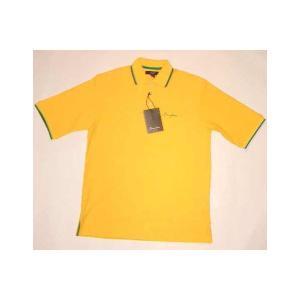 【SALE】SEAN JOHN S/S POLO Yellow/Green ショーンジョン S/S ポロシャツ イエロー/グリーン cio