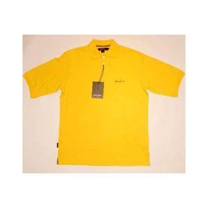 【SALE】SEAN JOHN S/S POLO Yellow/Brown ショーンジョン S/S ポロシャツ イエロー/ブラウン cio
