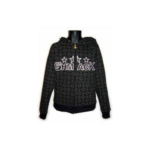 【SALE】SHMACK MONO HOODIE FULL ZIP PARKER Black シュマック モノ フーディー フルジップパーカー ブラック cio
