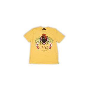 【SALE】STACKS & BUNDLES COLD BLOODED S/S TEE GOLD スタックス アンド バンダレス コールド ブローデッド S/S Tシャツ ゴールド cio