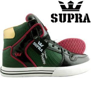 【SALE】スープラ ベイダー グリーン ブラック レッド  S28014 VAIDER Green/Black/Red|cio