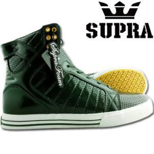 【SALE】スープラ スカイトップ チャドマスカ プロモデル ダークグリーン パテント S18035 SKY TOP Dark Green Patent|cio