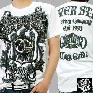 シルバースター SS Tシャツ ガイダ カーペンター ホワイト SILVER STAR SS TEE GUIDA CARPENTER White|cio