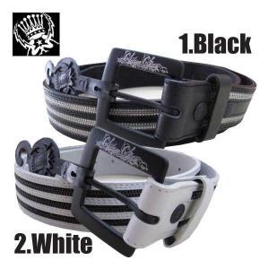 シルバースター ベルト ワン オブ アス ブラック,ホワイト SILVER STAR Belt ONE OF US Black White|cio