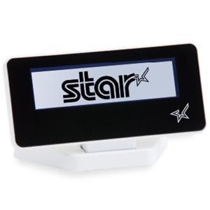 スター精密 mPOP対応カスタマーディスプレイ SCD222U WHT USB接続 スノーホワイト Star Micronics mPOP Customer Display SCD222U WHT USB Connection White|cio