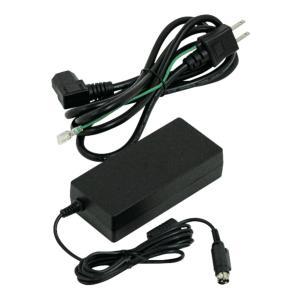 スター精密 プリンター用ACアダプター PS60A-24C アダプタL JP mC-Print3 mC-Print2 FVP10 TSP650II TSP700II TSP800II TUP500 TUP900 SP298 ブラック|cio