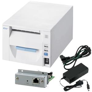 スター精密 据え置き型感熱式プリンター FVP10シリーズ FVP10U-24J1 JP セット(ACアダプター、インターフェースカード付き) Star Micronics Printer Set|cio