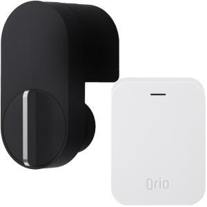 キュリオロック Q-SL2 セット(キュリオ ハブ付き) ブラック Qrio Lock Q-SL2 Set (including Qrio Hub) Black|cio