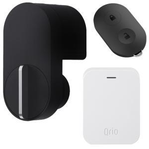 Qrio キュリオロック Q-SL2 セット(キュリオキー、キュリオ ハブ付き) ブラック Qrio...