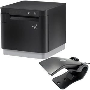 スター精密 据え置き型感熱式プリンター mCollection mC-Print3 MCP31LB BK JP セット(バーコードリーダー) WebPRNT USB Ethernet Bluetooth DK MFi|cio