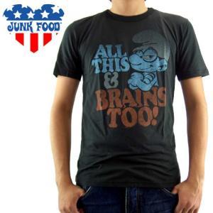 ジャンクフード S/S Tシャツ オール ディス アンド ブレーン トゥー SF266-159|cio