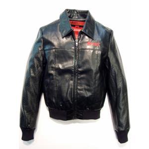 Smet S41641 CUFFED LEATHER JACKET Black スメット カフッドレザージャケット ブラック|cio