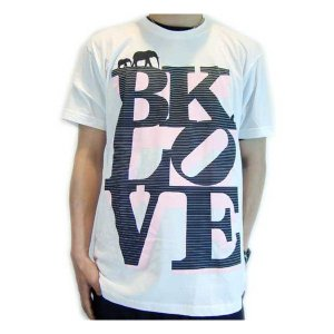 【SALE】The Brooklyn Circus Love S/S TEE White/Black/Pink ザ ブルックリンサーカス ラブ S/S Tシャツ ホワイト/ブラック/ピンク|cio