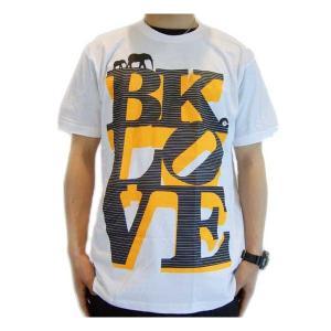 【SALE】The Brooklyn Circus Love S/S TEE White/Orange/Gray ザ ブルックリンサーカス ラブ S/S Tシャツ ホワイト/オレンジ/グレー|cio