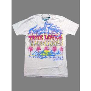 【SALE】True Love & False Idols TropicalFantasy S/S TEE White トゥルーラブアンドフォールスアイドルズ トロピカルファンタジー S/S Tシャツ ホワイト|cio