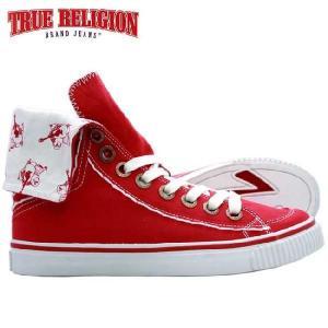 トゥルーレリジョン HANABEL T キャンバス レッド TRUE RELIGION  HANABEL T CANVAS Red|cio