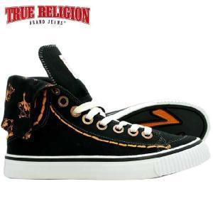 トゥルーレリジョン HANABEL T キャンバス ブラック TRUE RELIGION HANABEL T CANVAS Black|cio