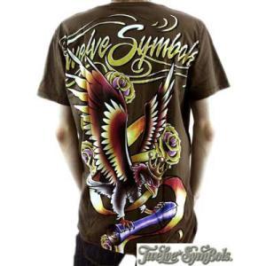 トゥエルブ シンボルズ S/S Tシャツ ジャッジメントディー デザート パーム Twelve Symbols SS TEE JUDGEMENT DAY Desert Palm|cio