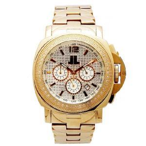 ジェイピーエム クロノグラフ ダイヤモンド ウォッチ ゴールド JPM Chronograph Diamond Watch|cio