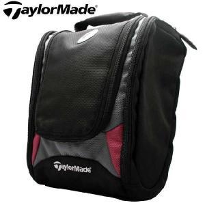 【SALE】テーラーメイド ティーエム プレーヤーズ シェービング キット バッグ ブラック TaylorMade TM Players Shaving Kit Bag Black|cio