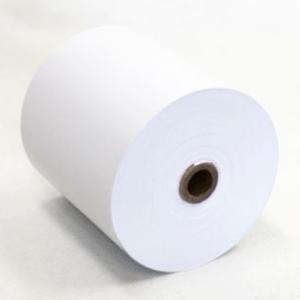 ティーピーピー 感熱式 チケット レシート キッチン ロール紙 感熱紙 8063 ホワイト 80×80×12mm 63m 60巻入 TPP Thermal Ticket Receipt Kitchen Paper Roll|cio