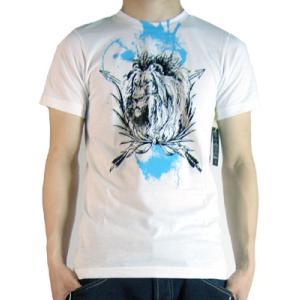 The Brooklyn Circus Lion Splash S/S TEE White ザ ブルックリンサーカス ライオンスプラッシュ S/S Tシャツ ホワイト|cio