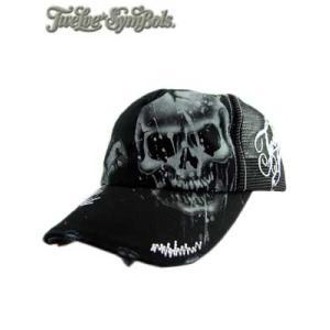 Twelve Symbols Cap M95400 Skull Renegade Black トゥエルブ シンボルズ キャップ M95400 スカル レネゲイド ブラック|cio