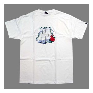 UNDEFEATED M Berry Print S/S TEE White アンディフィーテッド Mベリー プリント S/S Tシャツ ホワイト|cio
