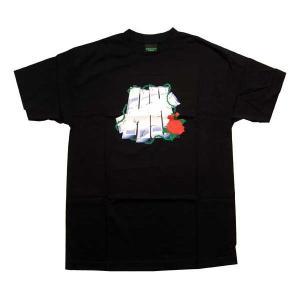 UNDEFEATED M Berry Print S/S TEE Black アンディフィーテッド Mベリー プリント S/S Tシャツ ブラック|cio