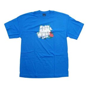 UNDEFEATED M Berry Print S/S TEE Blue アンディフィーテッド Mベリー プリント S/S Tシャツ ブルー|cio