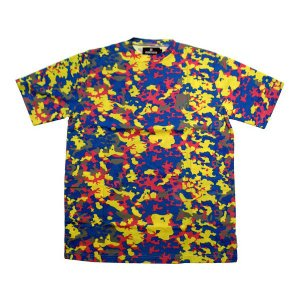 UNDEFEATED Undefeated Camo S/S TEE Blue Camo アンディフィーテッド アンディフィーテッドカモ S/S Tシャツ ブルーカモ|cio