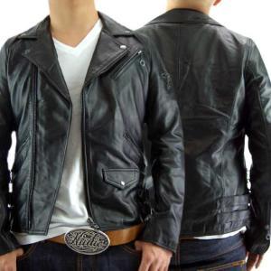【再入荷】【即納】ヴィル ディスポワール レザー ジャケット ダブル 17803 Ville D'Espoir Leather jacket Double 17803|cio