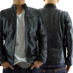 【即納】【再入荷】ヴィル ディスポワール レザー ジャケット シングル 17802 Ville D'Espoir Leather jacket Single 17802|cio