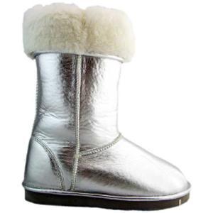 【SALE】ヴェンティ アンニ ボア ムートンブーツ シルバー Venti Anni Boa Mouton Boots Silver|cio