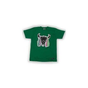 WU-EXCLUSIVE WEX07SS08 S/S TEE GREEN ウーエクスクルーシブ WEX07SS08 S/S Tシャツ グリーン|cio