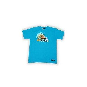 【SALE】WU-EXCLUSIVE WEX07SS04 S/S TEE TURQUOISE BLUE ウーエクスクルーシブ WEX07SS04 S/S Tシャツ ターコイズブルー|cio