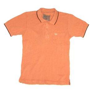 【SALE】Z-BRAND S/S POLO Orenge Wash ジーブランド S/S ポロシャツ オレンジウォッシュ|cio