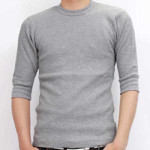 ジーコック ウエスト サーマル ハーフスリーブ Tシャツ グレー Zi-co'ck west THERMAL HALF SLEEVE TEE Gray(Grey)|cio