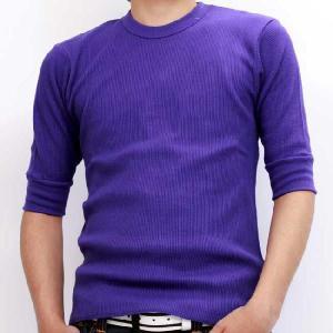 ジーコック ウエスト サーマル ハーフスリーブ Tシャツ パープル Zi-co'ck west THERMAL HALF SLEEVE TEE Purple|cio