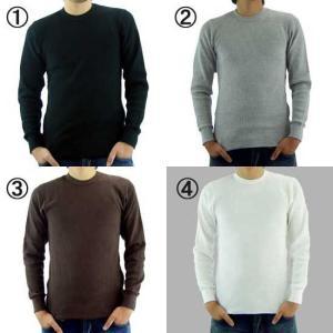 【再入荷】ジーコック ウエスト サーマル L/S Tシャツ 1.ブラック 2.グレー 3.ブラウン 4.ホワイト Zi-co'ck west THERMAL L/S T-SHIRTS|cio