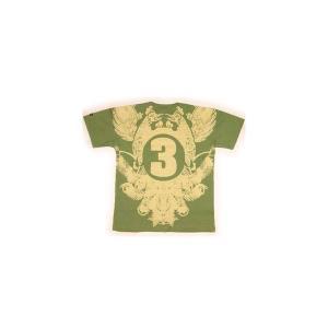 【SALE】3RD BORN S/S TEE KHAKI サード ボーン S/S Tシャツ カーキ cio