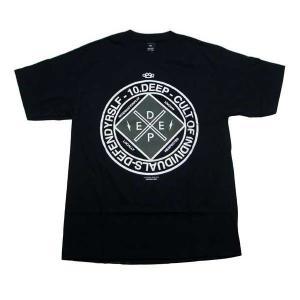 【SALE】10DEEP 81TD4314 UNIONIZED S/S TEE Black テンディープ ユニオンナイズド S/S Tシャツ ブラック|cio