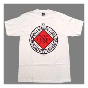 【SALE】10DEEP 81TD4316 UNIONIZED S/S TEE White テンディープ ユニオンナイズド S/S Tシャツ ホワイト|cio