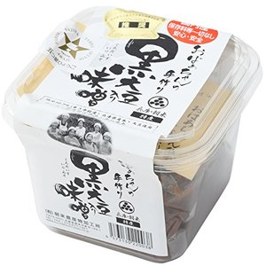 朝来農産加工所 おばあちゃんの手作り丹波黒大豆入り味噌 パック 500g