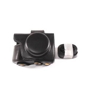 オリンパス OM-D E-M10 Mark III 専用の高級合皮レザーカメラケースです。ボディーと...