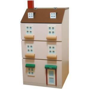 エテ ete 子供収納家具 タウンチェスト1番地 ピンク 【送料無料】【代引不可】 ※お届けまでお日にちがかかる場合がございます。|citron-g